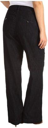 Jag Jeans Plus Size Mid-Rise Pearl Denim Trouser in Dark Storm (Dark Storm) - Apparel