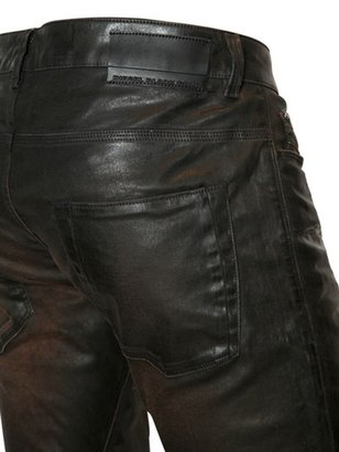 Diesel Black Gold 16,8 Cm Superbia Np Resin Coated Jeans