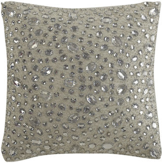 "Jane Wilner Designs Scattered Mirror Pillow, 12""Sq."