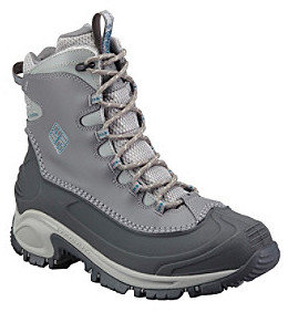 """Columbia Bugaboot Plus II"""" Mid-Calf Cold Weather Boot - Shale Grey"""