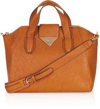Topshop Twist Lock Winged Holdall