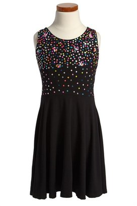 Flowers by Zoe Sequin Dress (Big Girls)