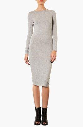 Topshop Midi Length Body-Con Dress