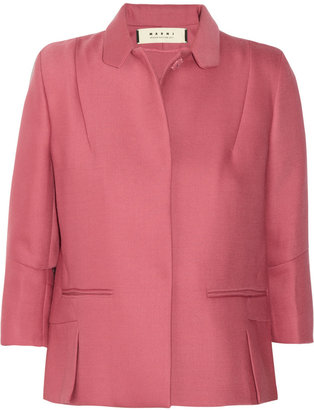 Marni Double-faced wool-twill jacket