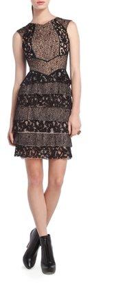 BCBGMAXAZRIA Kayla Lace Cocktail Dress
