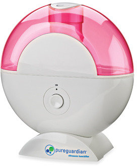 Germ Guardian Guardian Technologies™ Table Top Ultrasonic Humidifier - Pink
