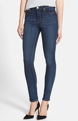 Women's Paige Transcend - Hoxton High Waist Skinny Jeans $189 thestylecure.com