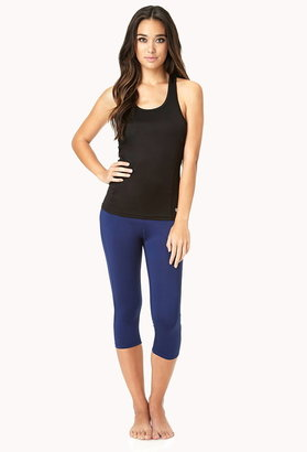 Forever 21 Active Reflective Trim Workout Tank