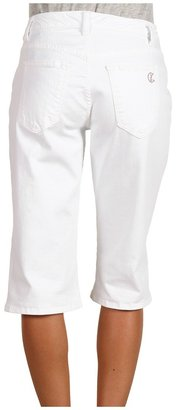 CJ by Cookie Johnson Loyalty Knee Short (Optic White) - Apparel