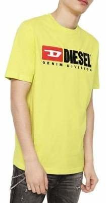 Diesel T-Just-Division Cotton Tee