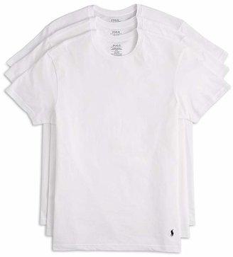 Polo Ralph Lauren Men's 3-Pack Cotton Crew Tees $39.50 thestylecure.com