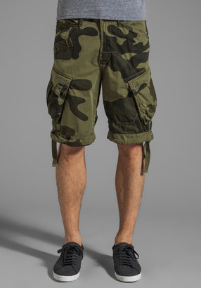G Star G-Star Rovic Loose Camouflage 1/2 Short