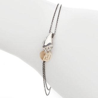 "Jeanine Payer John Dryden Bracelet , 6.75"", Silver/Gold 1 ea"