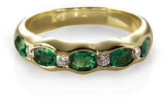 Aspinal of London Phoebe Wave Ring