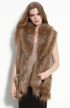 Twelfth St. By Cynthia Vincent by Cynthia Vincent 'Arizona' Faux Fur Vest