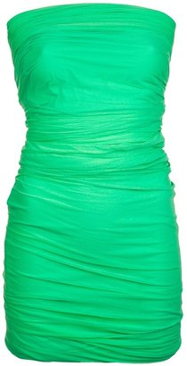 DSquared Dsquared2 Tulle strapless dress