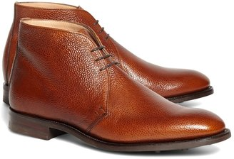 Brooks Brothers Peal & Co. Cognac Pebble Chukkas