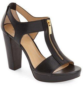 Women's Michael Michael Kors 'Berkley' T-Strap Sandal $119.95 thestylecure.com