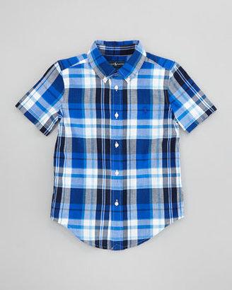 Ralph Lauren Blake Plaid Short-Sleeve Shirt, Sizes 2-6