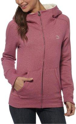 Puma Fleece Collar Zip-Up Hoodie