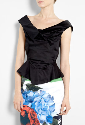 Vivienne Westwood Orchid Corset Blouse