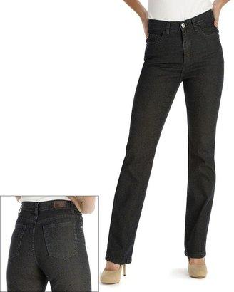 Lee classic fit slimming cheetah straight-leg jeans