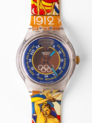 American Apparel Vintage Swatch Automatic Stockholm Watch