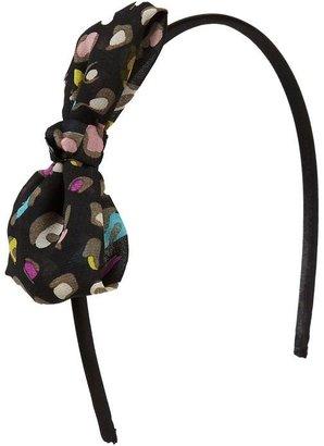 Old Navy Girls Chiffon Cheetah Bow-Tie Headbands