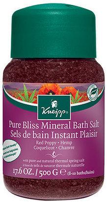 Kneipp Pure Bliss Mineral Bath Salts 17.6 oz (520 ml)