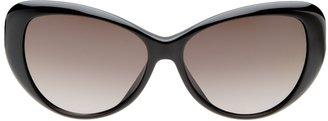 Valentino Cut-Out Logo Cat-Eye Frame