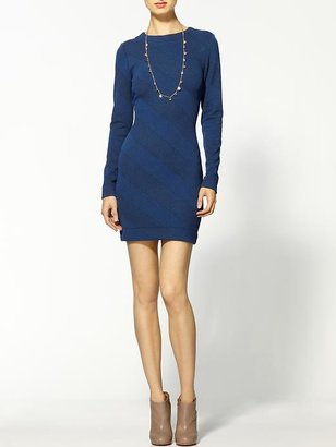 Cut25 Cut 25 Long Sleeve Jersey Dress