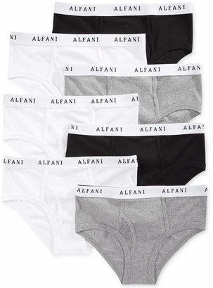 Alfani Men's Tagless Low-Rise Briefs 7-Pack $40 thestylecure.com
