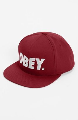 Obey 'The City' Snapback Cap