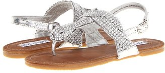 Steve Madden J-Sheik (Little Kid) (Silver) - Footwear