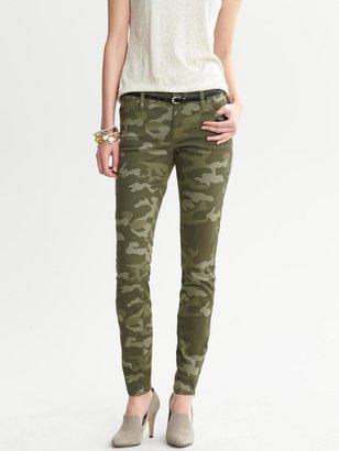 Camo Heritage Skinny Ankle Zip Jean