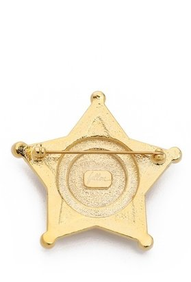 Swarovski Fallon Jewelry Pave Badge Pin