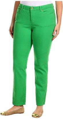MICHAEL Michael Kors Plus Size Colored Skinny Jean (Fresh Green) - Apparel