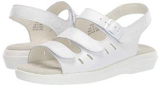 Propet Breeze Walker (White Grain) Women's Shoes