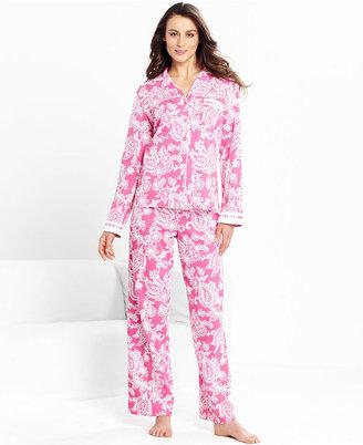 Charter Club Pajamas, Long Sleeve Top and Pajama Pants