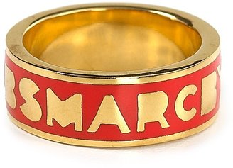 Marc by Marc Jacobs Classic Marc Logo Band Ring