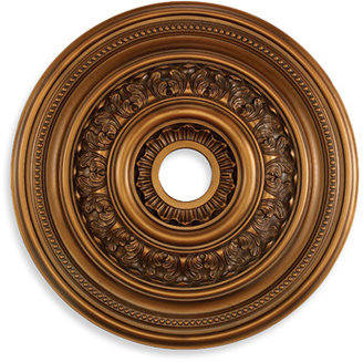 "STUDY ELK Lighting English 24"" Ceiling Medallion (Antique Bronze)"