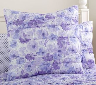 Pottery Barn Kids Lillian Floral Quilted Bedding