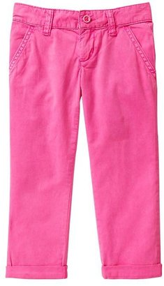 Gap Colored roll-up pants