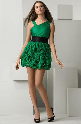 Alice + Olivia Pleat Detail Dress