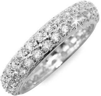 Ariella Collection Pavé Cubic Zirconia Ring