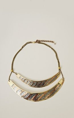 Natalie B Allanah Double Collar Necklace