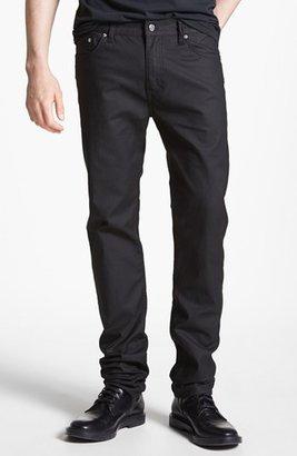 BLK DNM 'Jeans 5' Slim Straight Leg Jeans (Orchard Black)