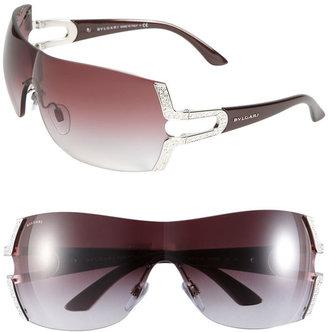 Bulgari BVLGARI Parentesi Motif Shield Sunglasses