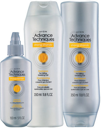 Avon ADVANCE TECHNIQUES Strong Strands 3-Piece Care Collection