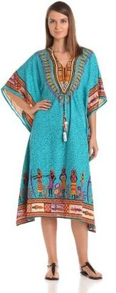 T-Bags Tbags Los Angeles Women's Embroidered Kurta